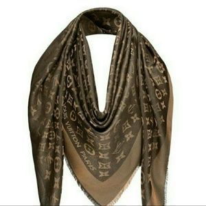 Louis Vuitton Large Cashmere monogram Scarf